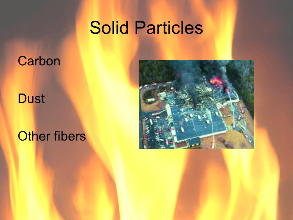 Solid Particles Carbon Dust Other fibers