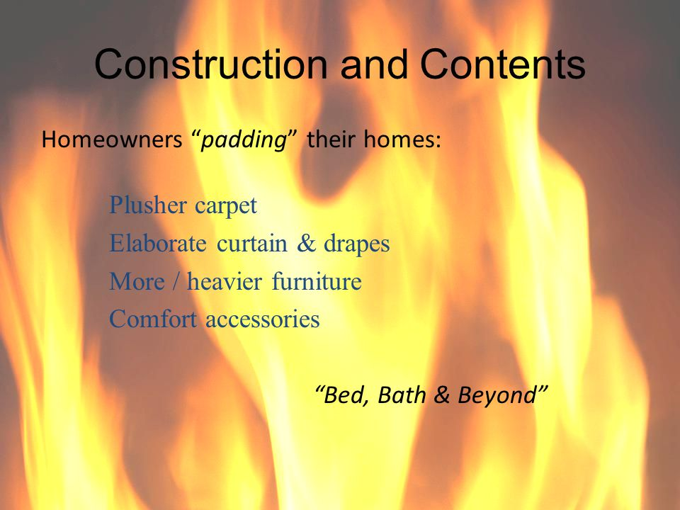 Construction and Contents