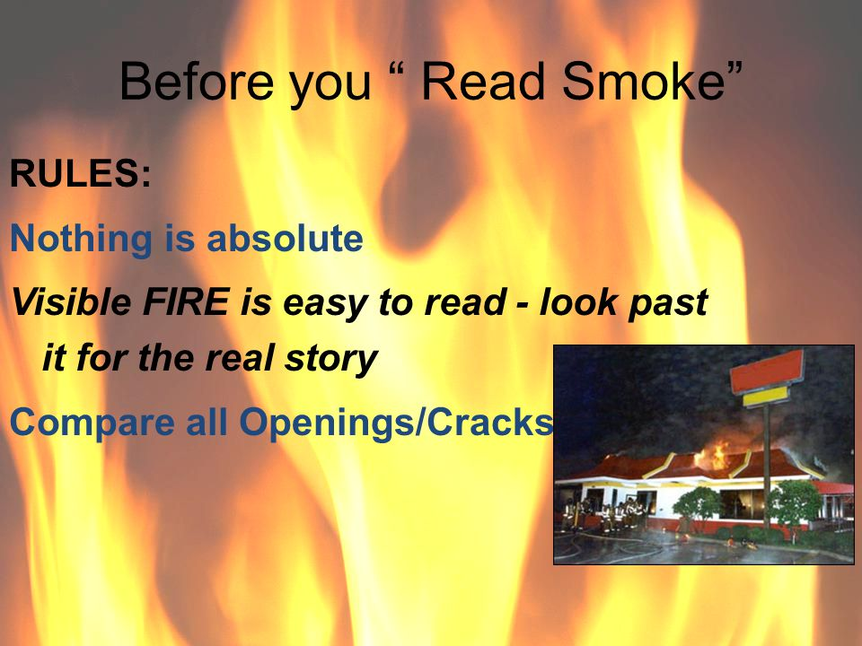 Before you Read Smoke
