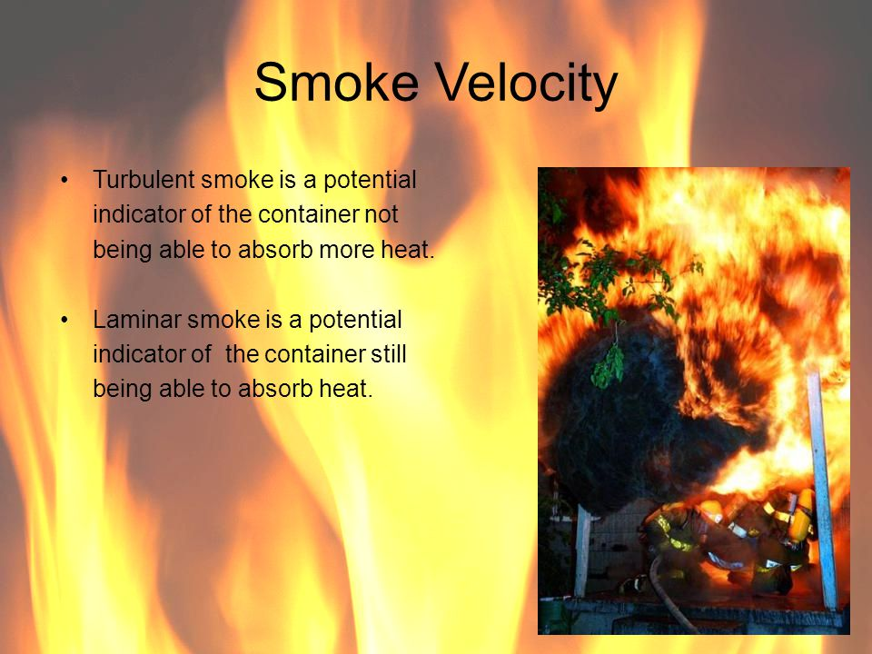 Smoke Velocity Turbulent smoke is a potential