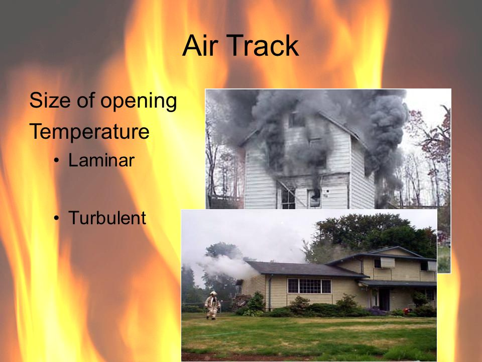 Air Track Size of opening Temperature Laminar Turbulent 78