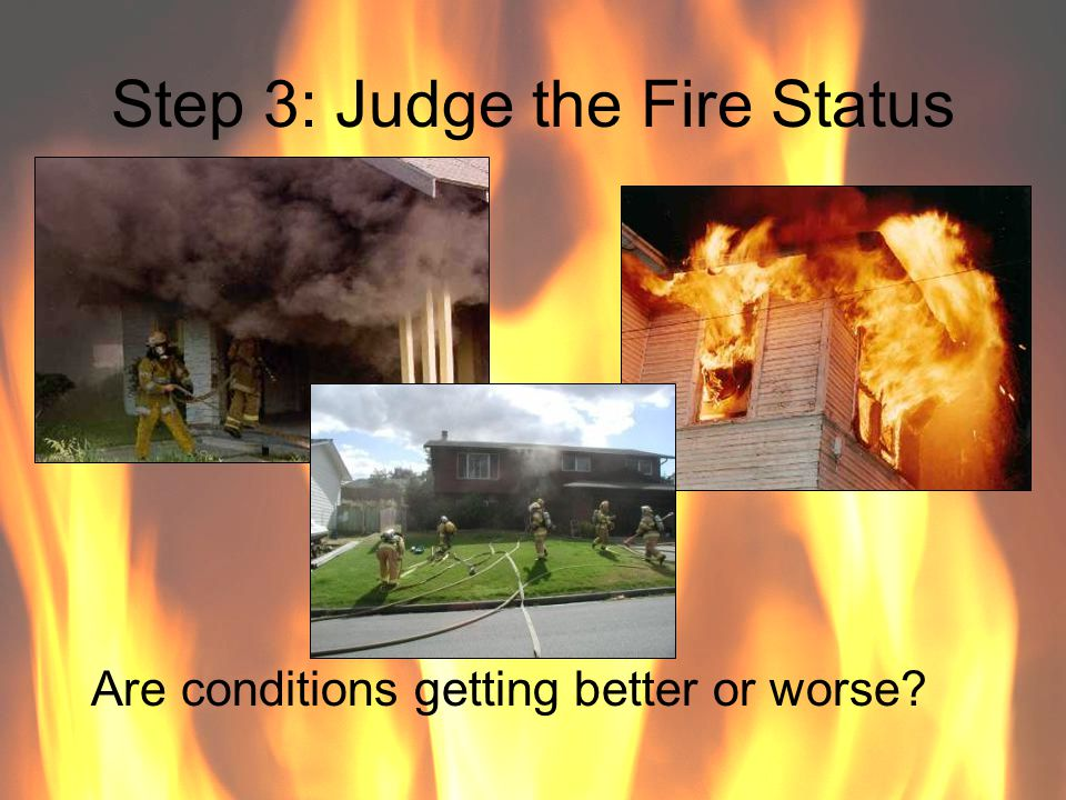 Step 3: Judge the Fire Status