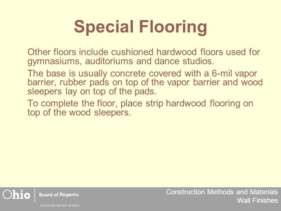 Special Flooring