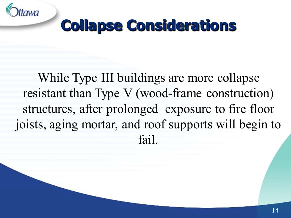 Collapse Considerations