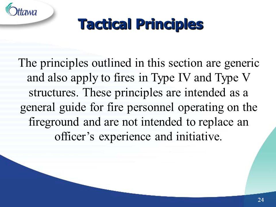 Tactical Principles