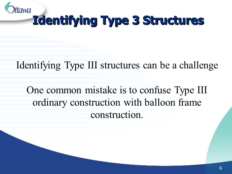 Identifying Type 3 Structures