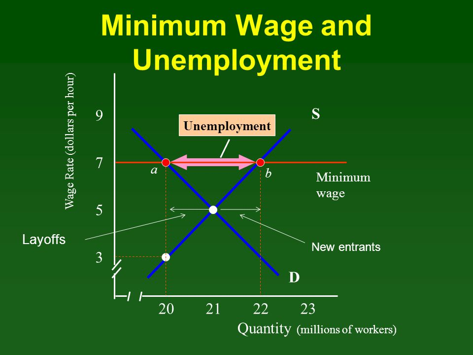 Minimum Wage and Unemployment