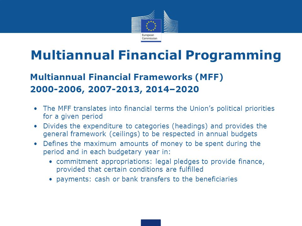 Multiannual Financial Programming