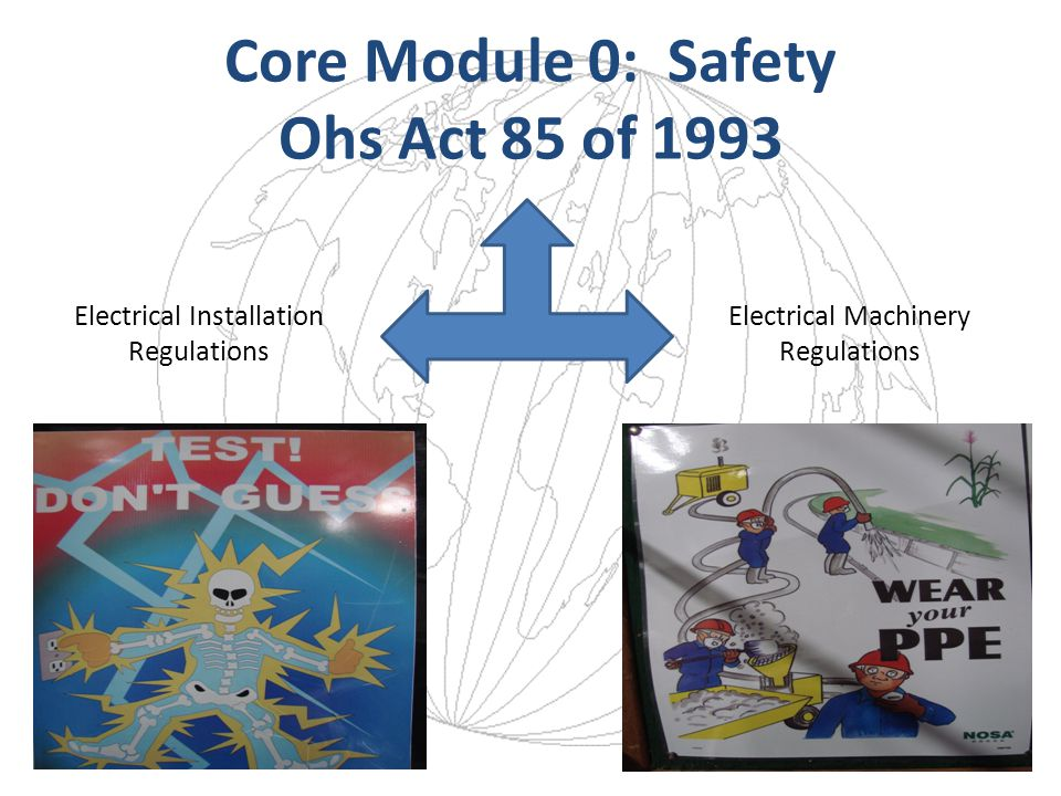 Core Module 0: Safety Ohs Act 85 of 1993