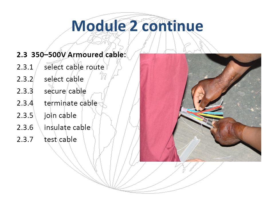 Module 2 continue