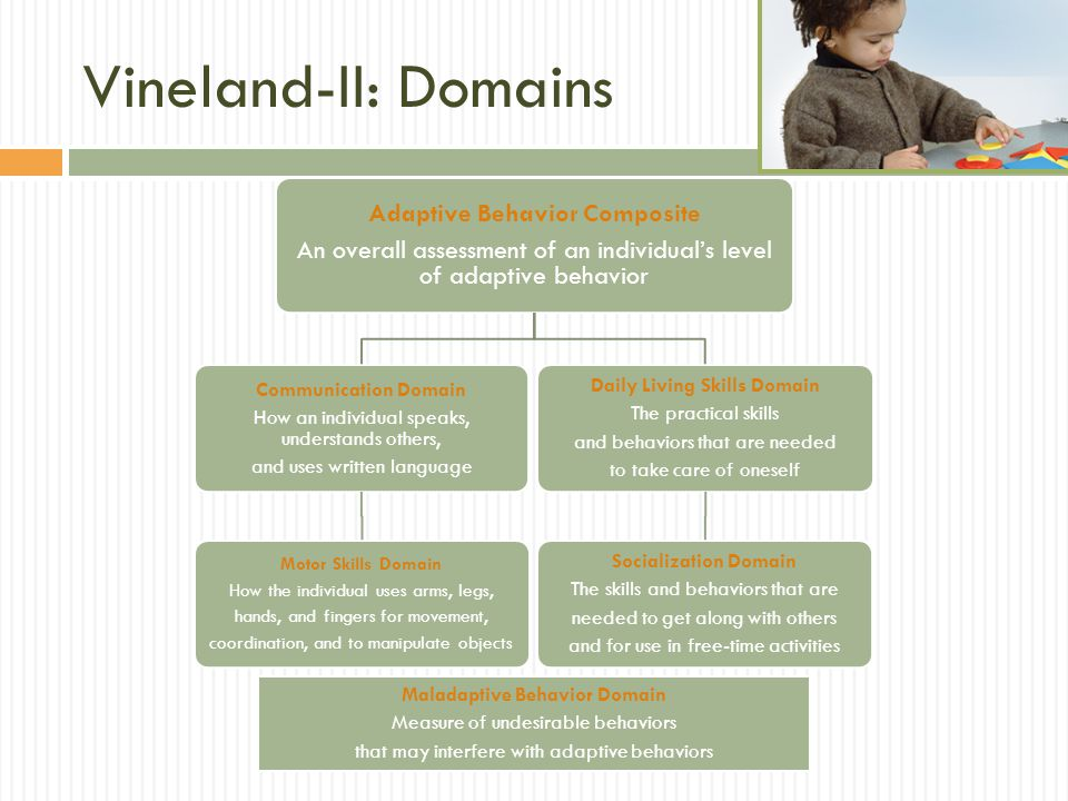 Vineland-II: Domains Adaptive Behavior Composite
