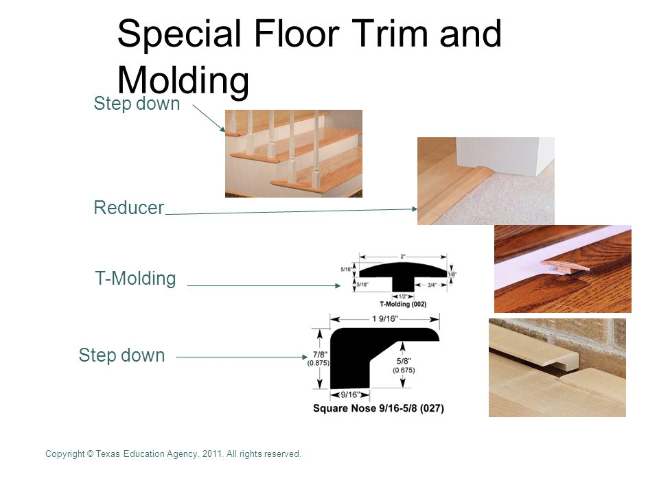 Special Floor Trim and Molding
