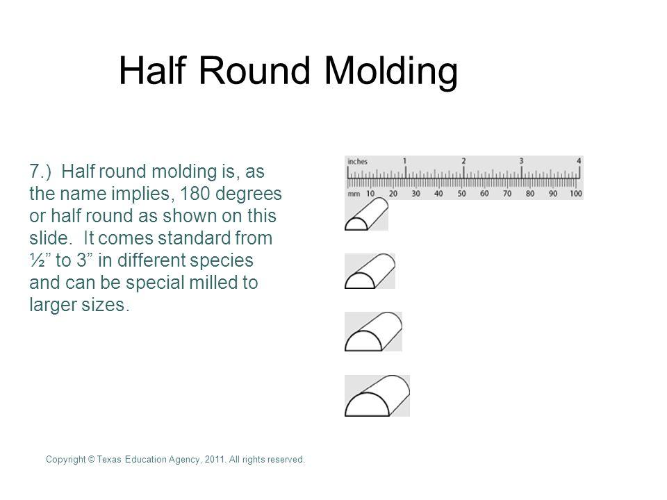 Half Round Molding