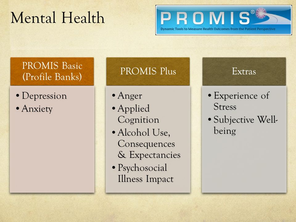 PROMIS Basic (Profile Banks)