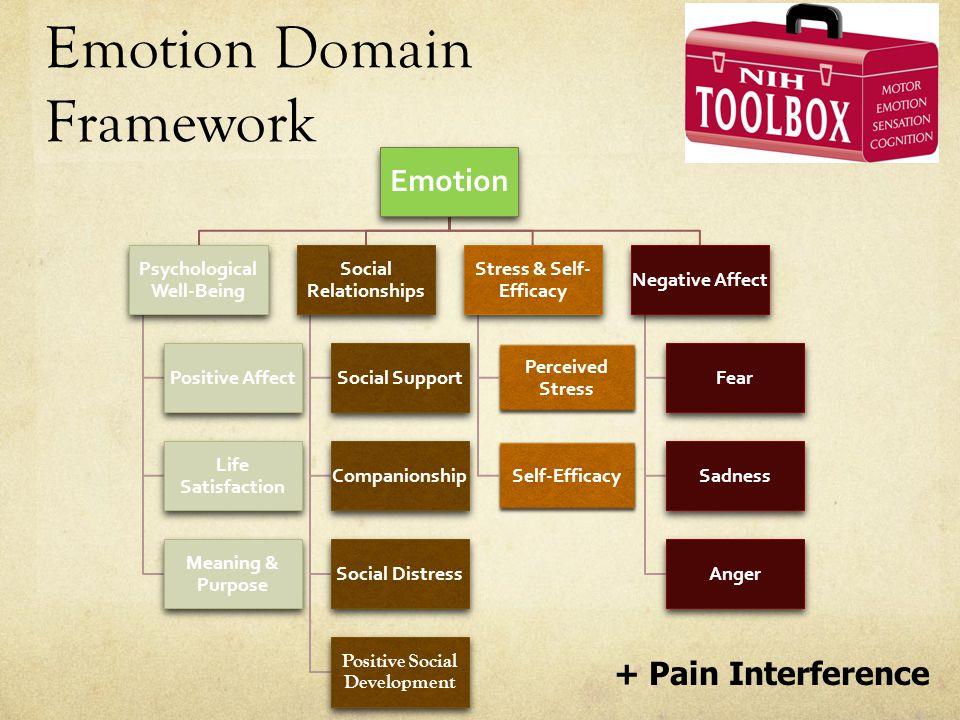 Emotion Domain Framework