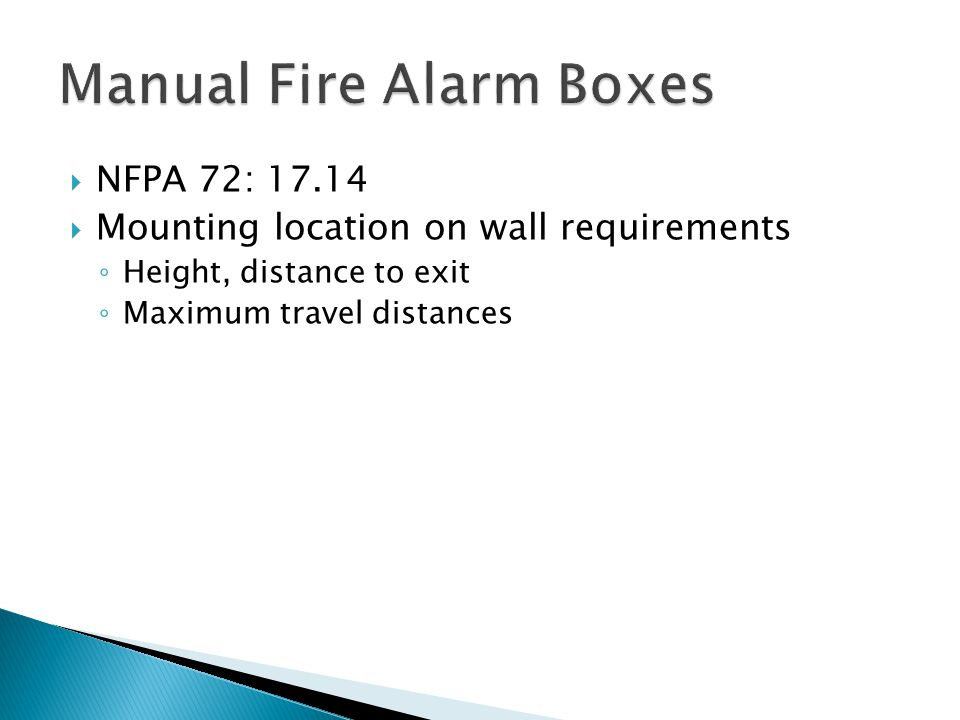 Manual Fire Alarm Boxes