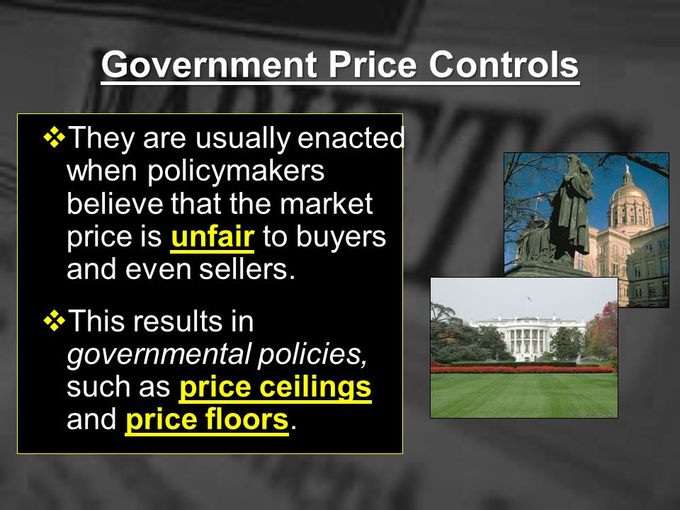 Government Price Controls