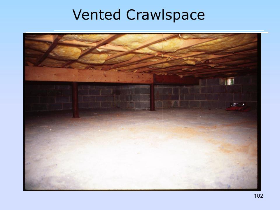 Vented Crawlspace