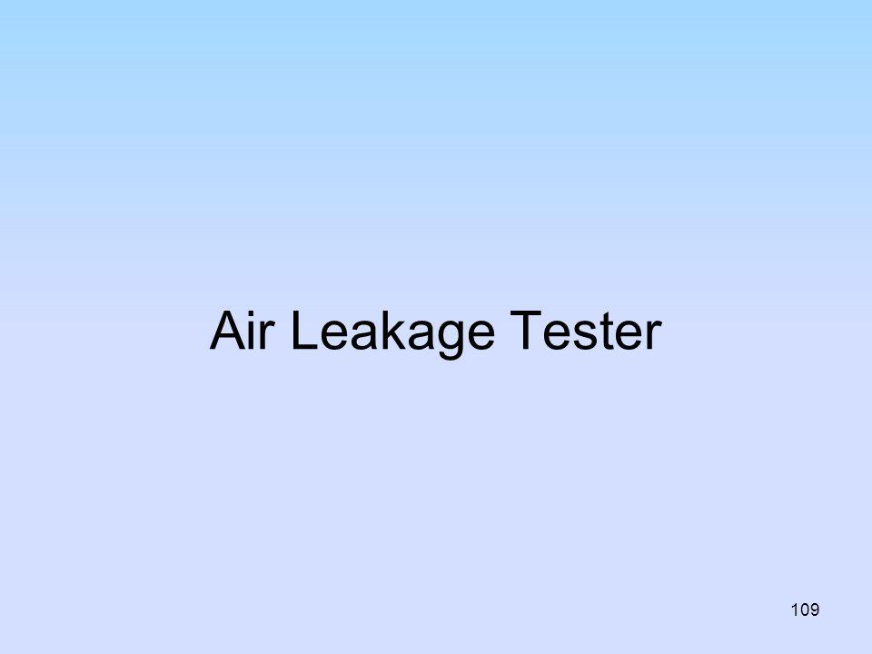 Air Leakage Tester