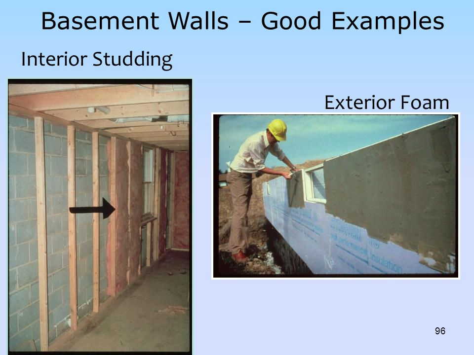 Basement Walls – Good Examples