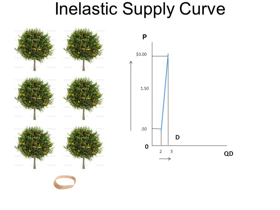 Inelastic Supply Curve