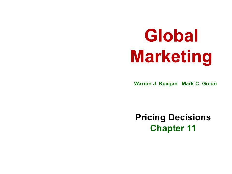 Global Marketing Global Marketing