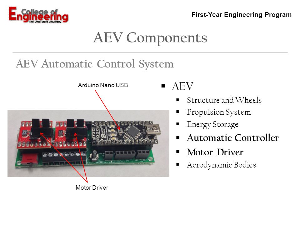 AEV Components AEV Automatic Control System AEV Automatic Controller