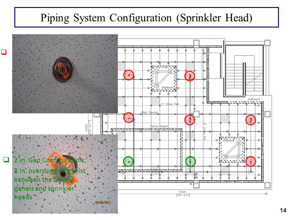 Piping System Configuration (Sprinkler Head)