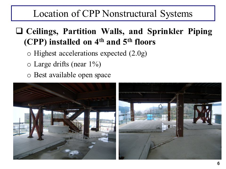 Location of CPP Nonstructural Systems