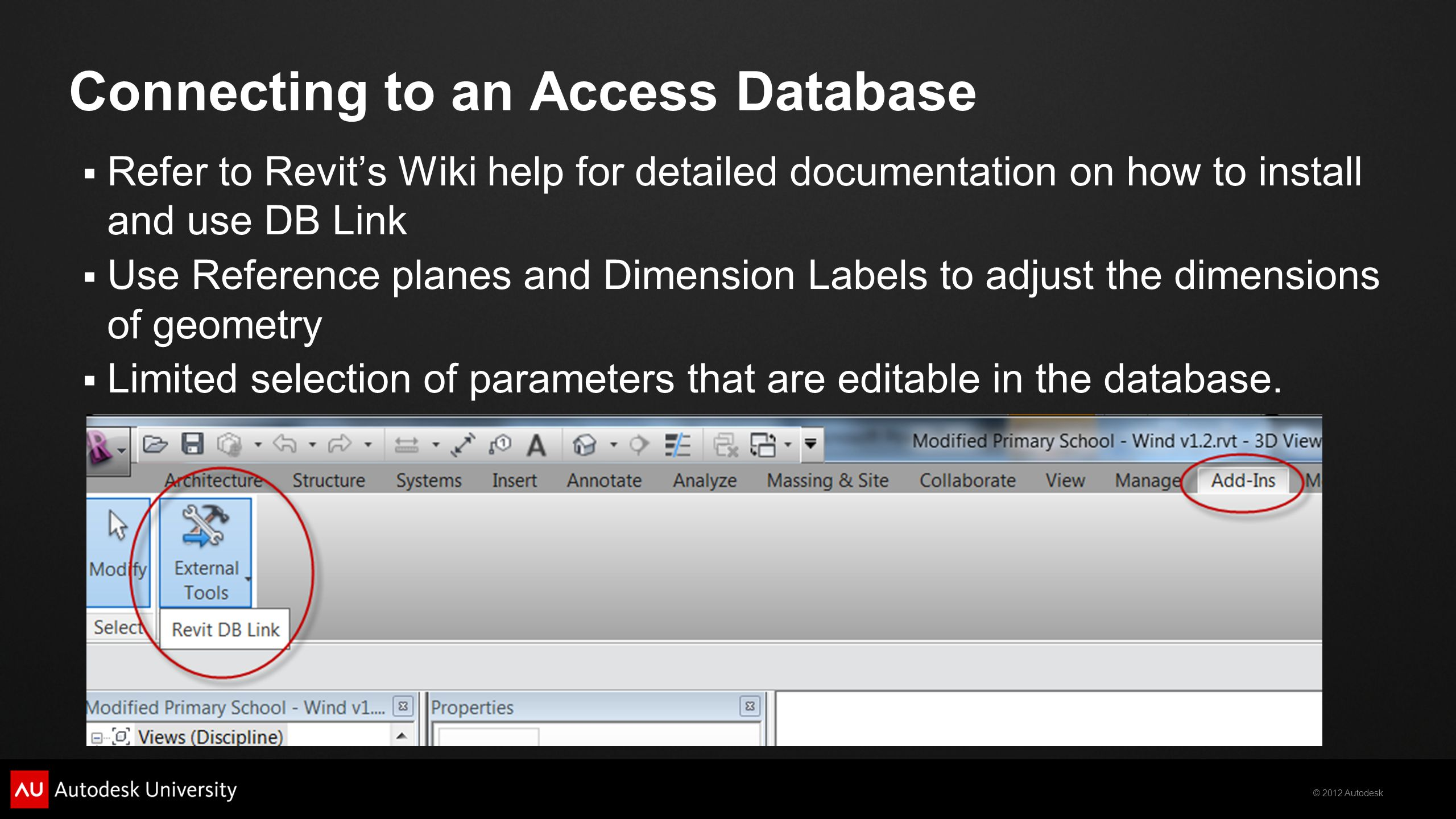 Connecting to an Access Database
