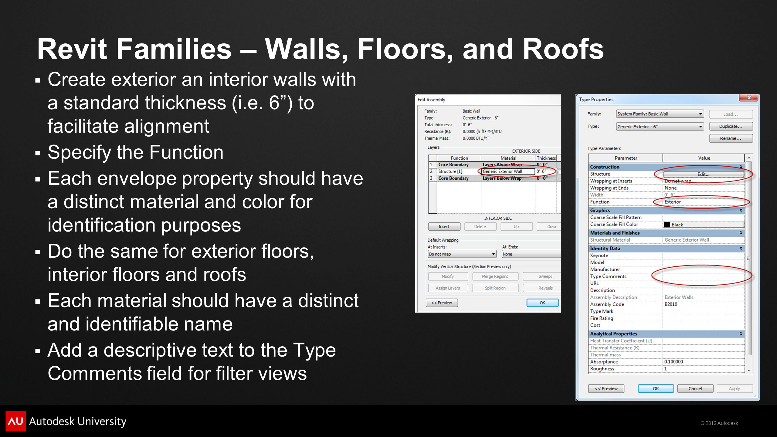 Revit Families – Walls, Floors, and Roofs