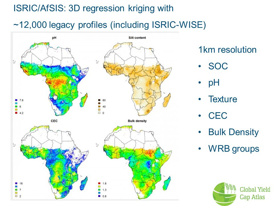 ISRIC/AfSIS: 3D regression kriging with