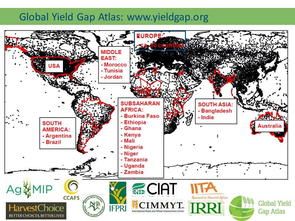 Global Yield Gap Atlas: www.yieldgap.org