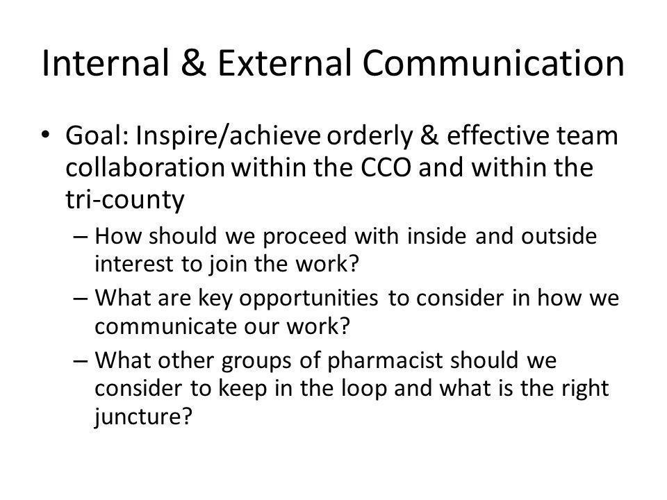 Internal & External Communication