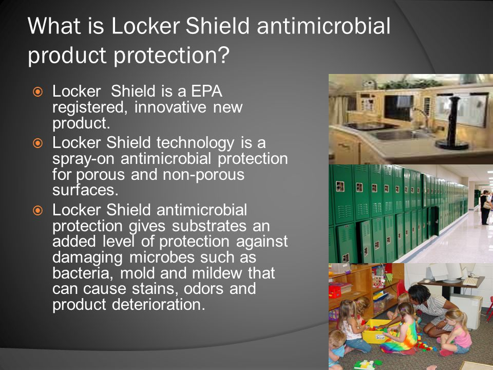 What is Locker Shield antimicrobial product protection