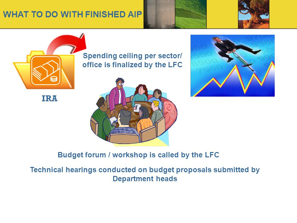 Spending ceiling per sector/ office is finalized by the LFC