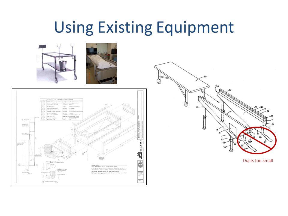 Using Existing Equipment