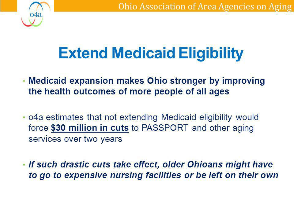 Extend Medicaid Eligibility