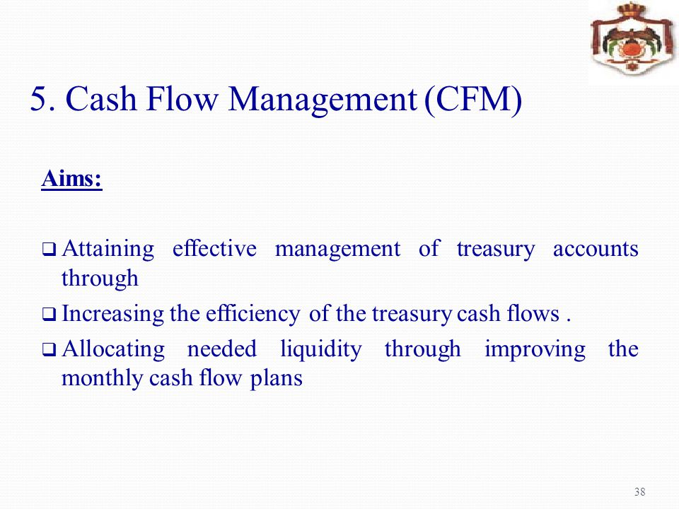 5. Cash Flow Management (CFM)