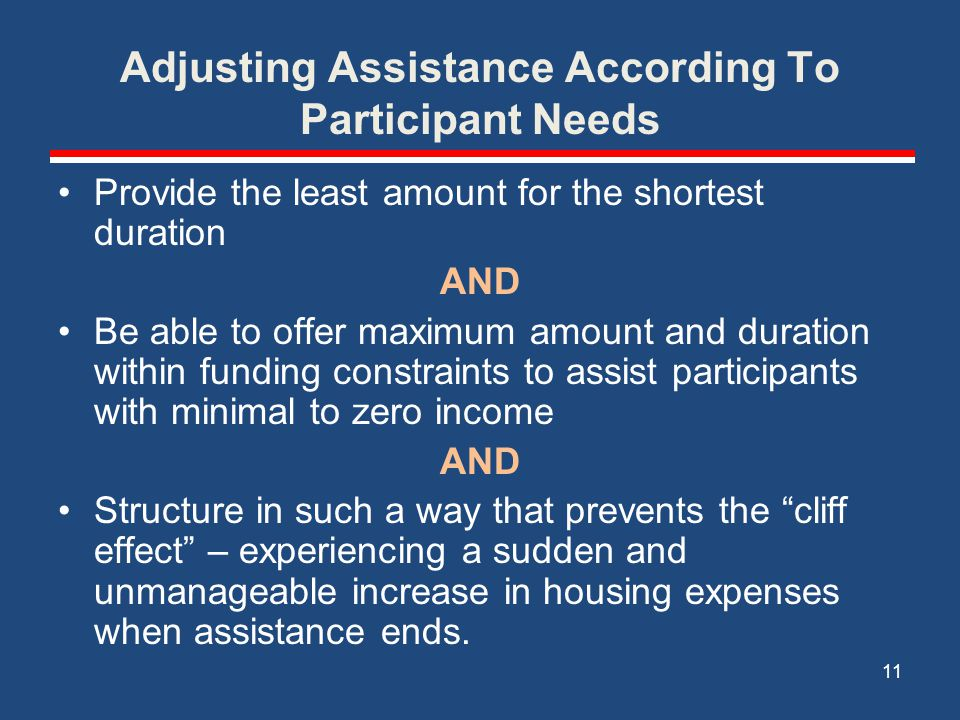 Adjusting Assistance According To Participant Needs