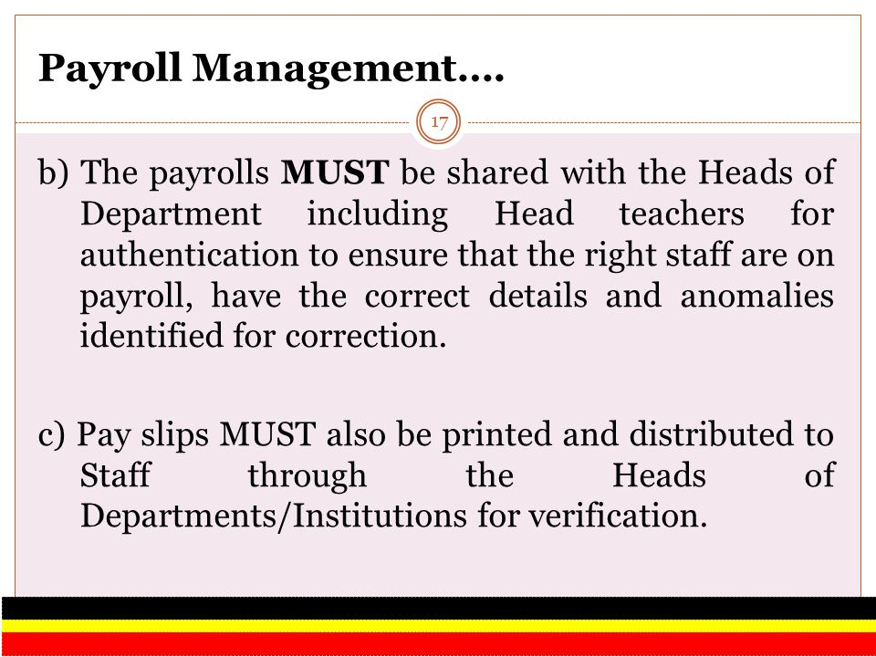 Payroll Management….