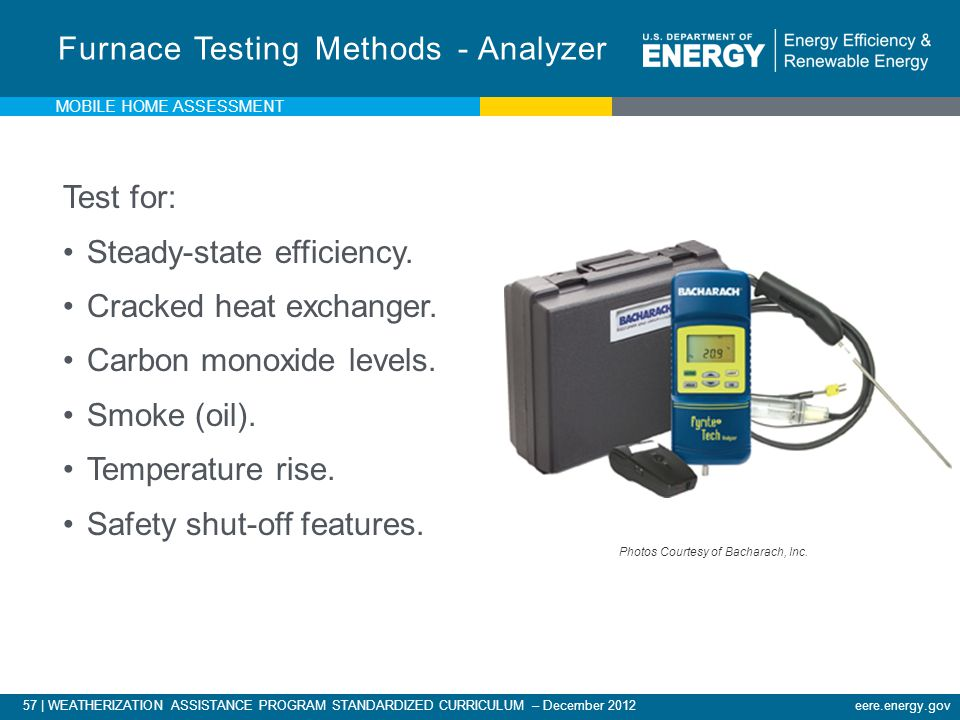 Furnace Testing Methods - Analyzer