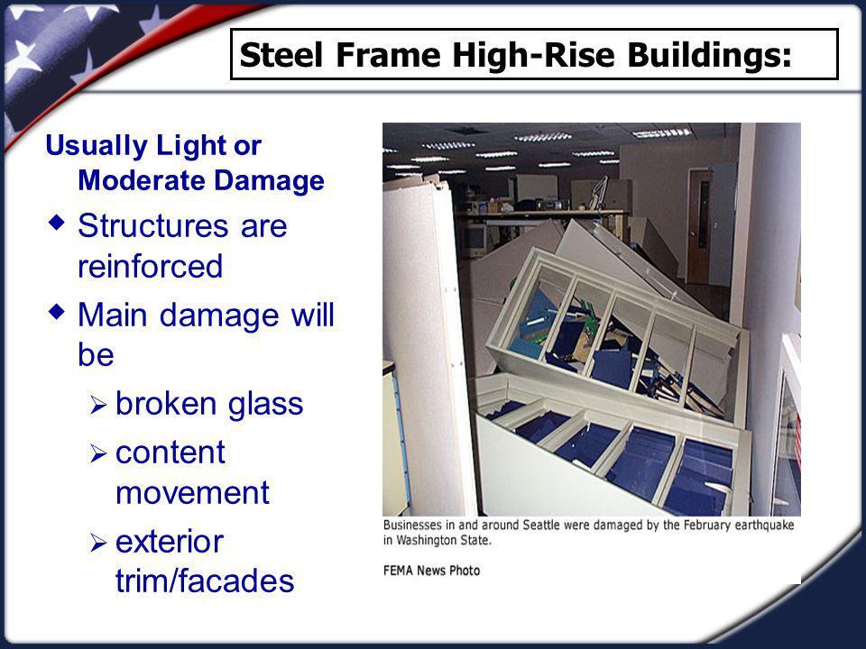Steel Frame High-Rise Buildings: