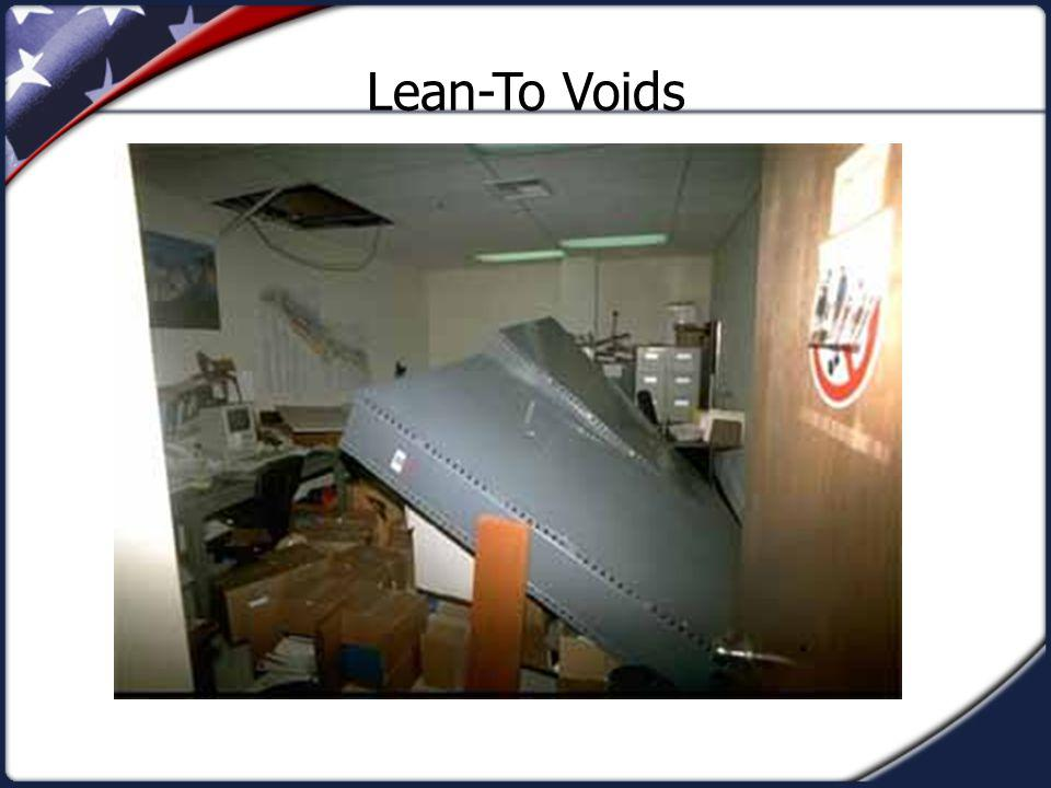 Lean-To Voids