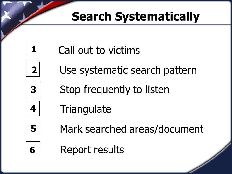 Search Systematically