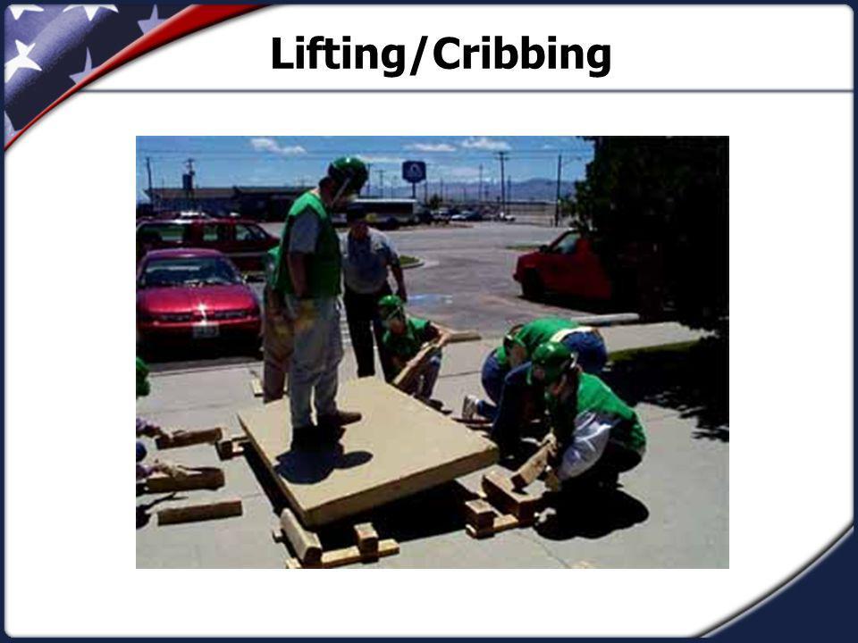 Lifting/Cribbing
