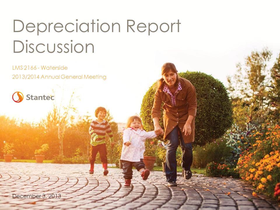Depreciation Report Discussion