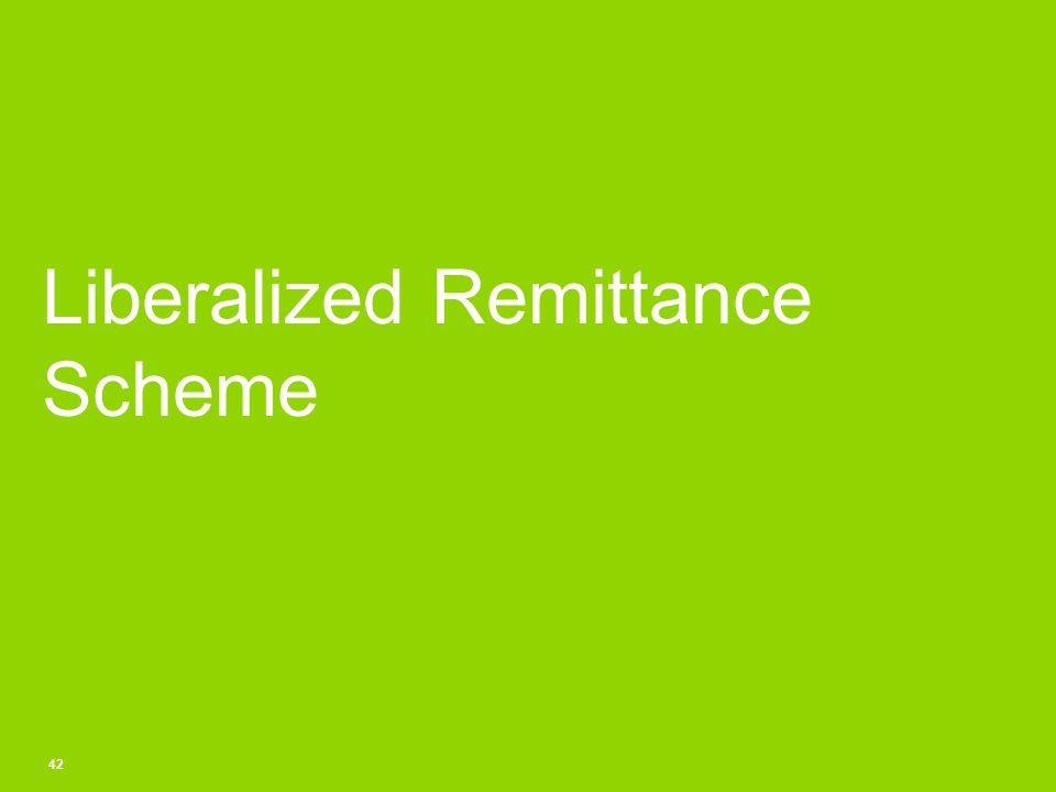 Liberalized Remittance Scheme