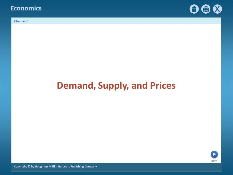Demand, Supply, and Prices