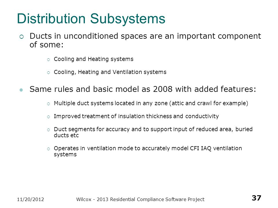 Distribution Subsystems